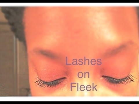 Paint-On False Lashes~Demo - YouTube abfbb9047a