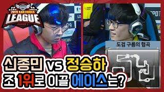 신종민 vs 정승하 팀을 조 1위로 이끌 에이스는? [19.01.26] 2019 카트라이더 리그 시즌1
