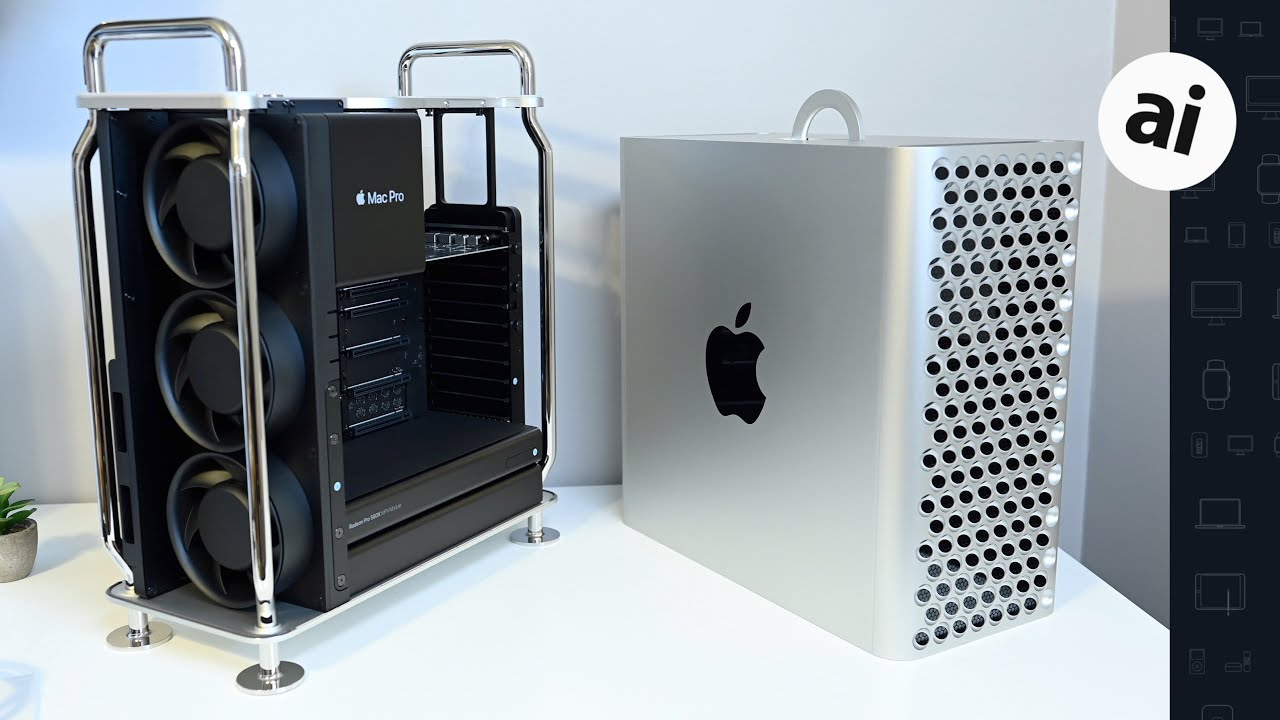 A Hands on Tour of the New Mac Pro!