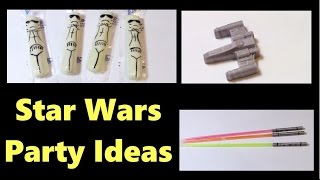 Star Wars Themed Party Ideas!