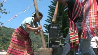 Rice Pounding Contest in Lubuagan, Kalinga   March, 2011