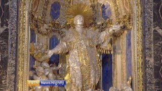 A Look Inside One of Rome's Most Unique Churches - ENN 2018-08-15