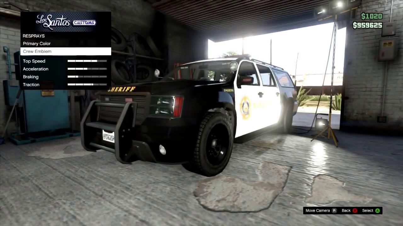 GTA Online HOW TO KEEP A POLICE CAR GTA V Multiplayer