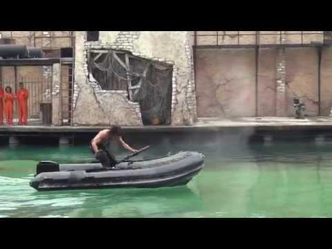John Rambo Stunt Show - Movieland 2014