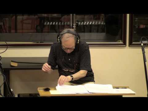 Ennio Morricone recording at Studio CNSO