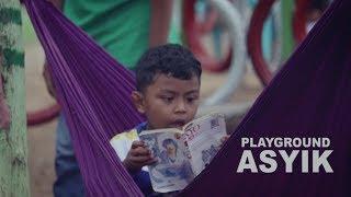 HEBAT! Di Playground Ini Anak-anak Bisa Belajar Sambil Bermain