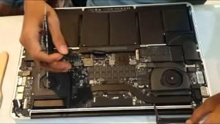 Tutorial Macbook Pro Retina 15 ganti LCD || Macbook Pro 15 Retina Screen Replacement