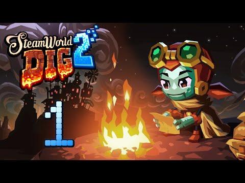 SteamWorld Dig 2 - Прохождение игры на русском [#1] | PC