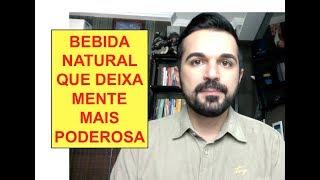Poderosa Bebida Natural que acelera o cérebro #Rafael Freitas