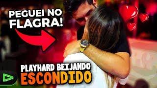 PEGUEI O PLAYHARD NO FLAGRA ESCONDIDO!!!