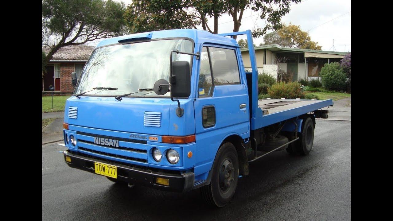 Nissan Tilt Slide Tray Tow Truck For Sale Melbourne Australia On