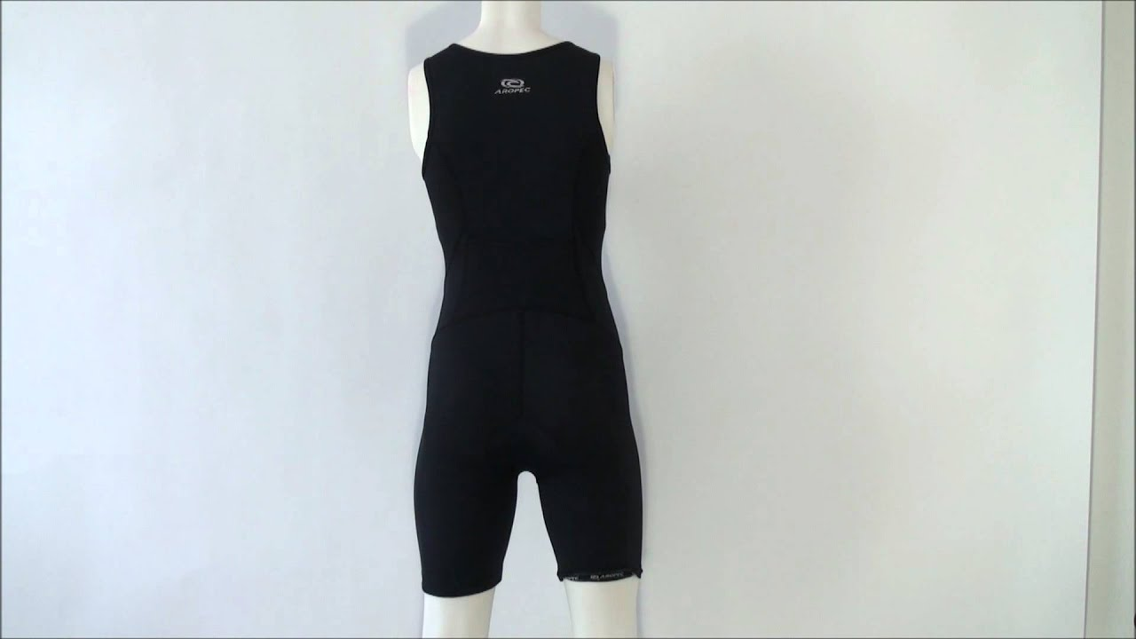 aropec triathlon einteiler evolution black f r damen youtube. Black Bedroom Furniture Sets. Home Design Ideas