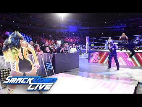 Naomi helps Jimmy Uso defeat Rowan: SmackDown LIVE, April 24, 2018
