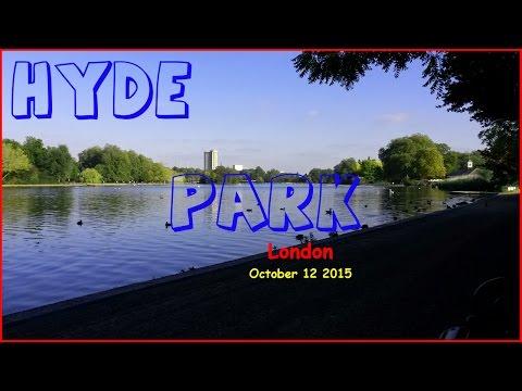 Hyde Park - London - October 12 2015