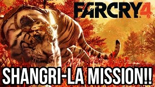 Far Cry 4 Gameplay Walkthrough - FIRST SHANGRI LA MISSION!! (PS4 1080p Full Game)