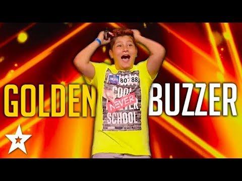 KID Singer Gets GOLDEN BUZZER!   ČESKO SLOVENSKO MÁ TALENT 2018   Got Talent Global