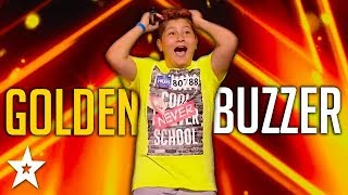 KID Singer Gets GOLDEN BUZZER! | ČESKO SLOVENSKO MÁ TALENT 2018 | Got Talent Global