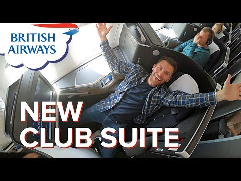 British Airways NEW BUSINESS CLASS Suite | First Long-haul Flight