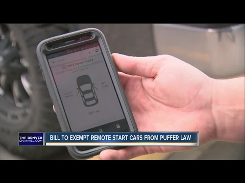 Bill to exempt remote start cars from puffer law