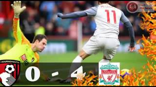 Bournemouth VS Liverpool 0 - 4 EPL Highlights (08-12-2018/19)