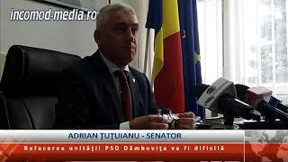 Adrian Ţuţuianu: Refacerea unităţii PSD Dâmboviţa va fi extrem de dificilă