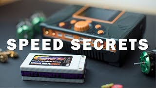 17.5 & 13.5 SPEED SECRETS, TIPS, TRICKS || How to tune motors, pump batteries, and weight