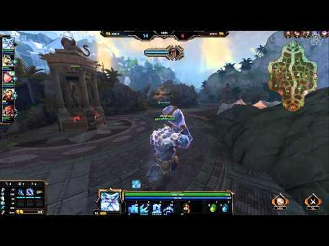видео: smite ! Довольно необычная moba игра :)