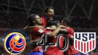 Costa Rica vs USA WCQ HEX ALL GOALS & HIGHLIGHTS