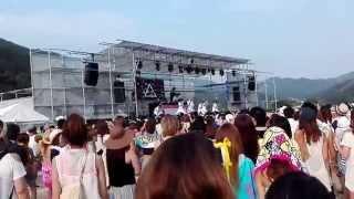 水晶浜 MINMI 2015/8/2.
