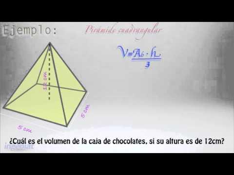 SEP M2S 2.5.2 Cálculo de volumen de cubos, prismas y pirámides - YouTube