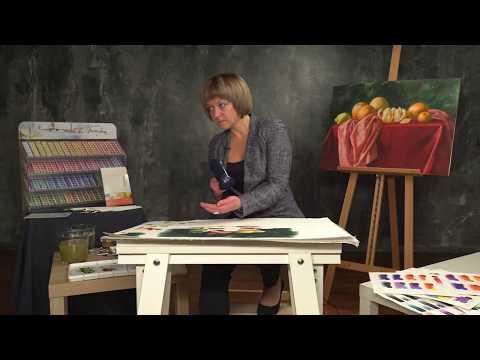 Elena Bazanova's watercolour masterclass. Lesson 5