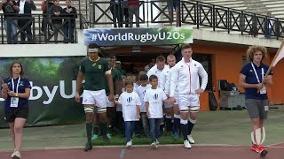England 32-31 South Africa - World Rugby U20 Highlights