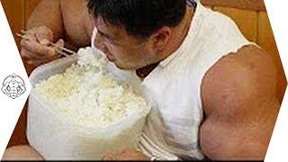 【筋トレ】ボディビルダーのすごい食事量 thumbnail