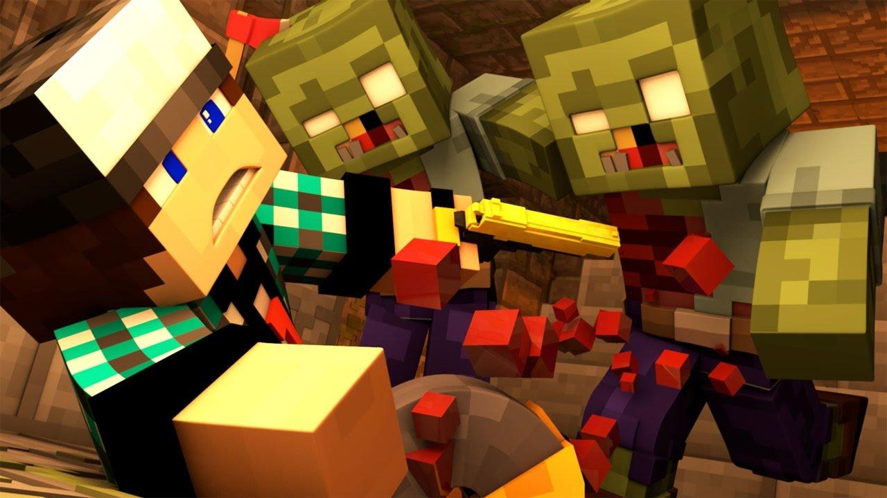 Видео майнкрафт зомби апокалипсис 8 серия