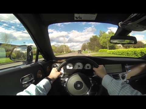2016 Rolls Royce Wraith Inspired by Music POV Test Drive