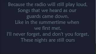 The Gaslight Anthem - Boomboxes and Dictionaries lyrics