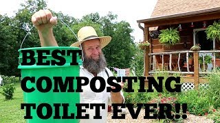 BEST COMPOSTING TOILET SYSTEM EVER!!