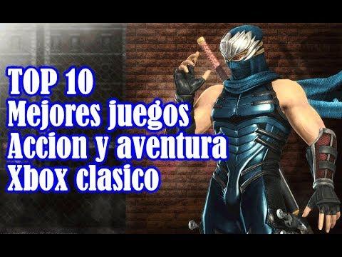Top Mejores Juegos De Accion Y Aventura Xbox Clasico Youtube