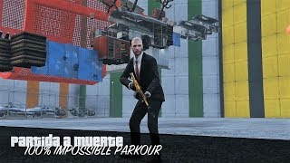 GTA V - ¿PARKOUR 100% IMPOSIBLE? (MUCHAS RISAS)