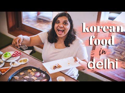 KOREAN BARBEQUE IN DELHI | Busan Korean | Majnu Ka Tilla