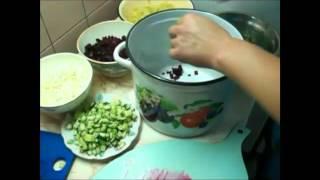 Как приготовить вкусный холодный свекольник