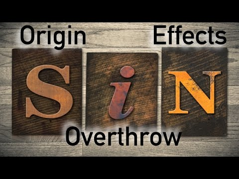 The Entry of Sin into the World and its Effects