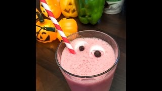 Scary Fruit Smoothies  Kids Halloween Recipes