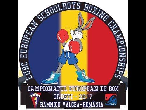 Saba TKEBUCHAVA (GEO) VS Tomislav LETENIC (CRO), 38.5kg, European Schoolboys Championships 2017