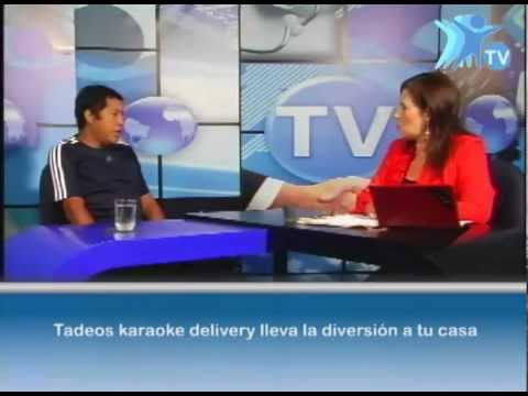 ENTREVISTA A TADEOS KARAOKE DELIVERY  LIMA PERU