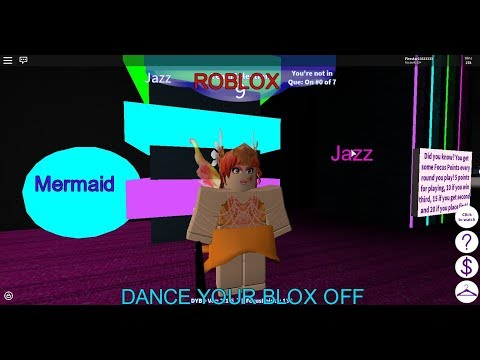 Roblox- Dance Your Blox Off- Mermaid- Jazz