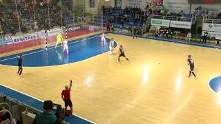 Сейвы вратарей Российской Суперлиги по мини-футболу.