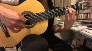 Kiss the Rain - Yiruma - Classical Guitar cover - 雨的印記 - 李閏珉 - 비를 맞다 - 이루마