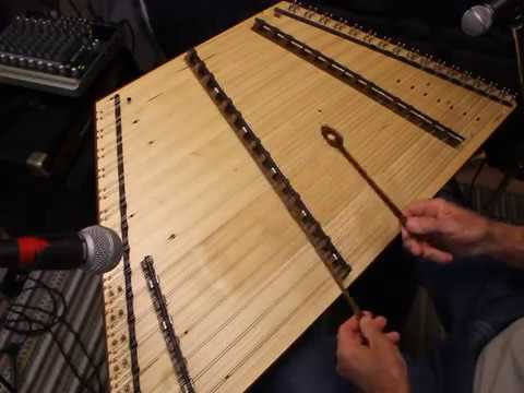 Two tunes on 17/16/8 Warbler Ultimate Spruce Hammered Ducimer-Songbird Dulcimers