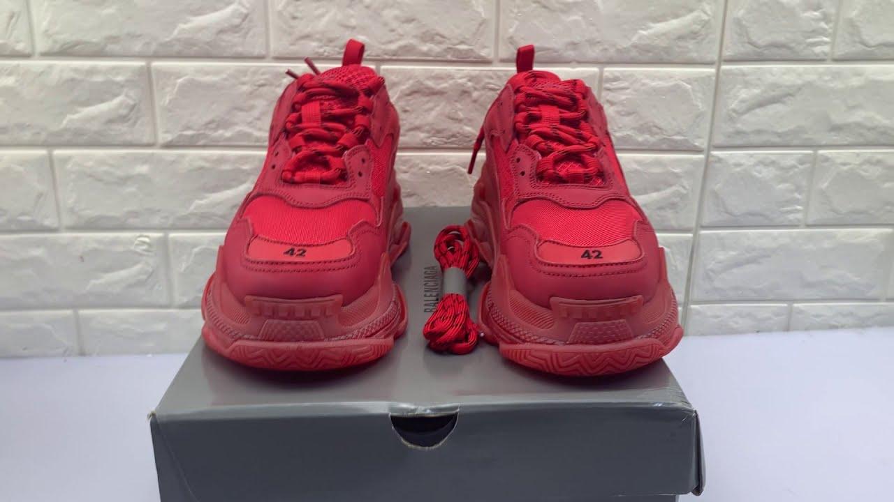 best Balenciaga Triple S Neon Pink W 524039W09OH6470